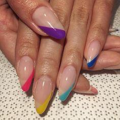 ⚡️#nailart #nails #simplemani #notd #nailswag #nailporn #nailjunkie #gelmanicure #nyc