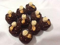Chocolate heaven by Cupcake Magic. www.kupcakemagik.co.uk