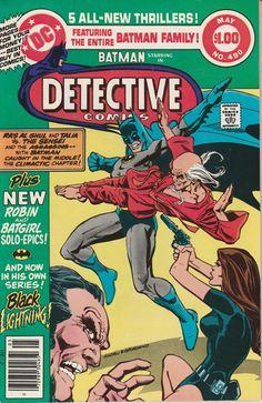 Detective Comics Vol. 44 No. 490  1980  Black by TheSamAntics