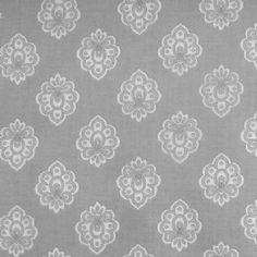 Superior Regalido Extra Wide Acrylic Oilcloth In Grey