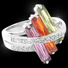 Woman's Rings The Perfect Sunset- Fifth Avenue Collection :: Beautiful Jewellery :: Fifth Avenue Collection, All That Glitters, International Fashion, Girls Best Friend, Jewlery, Fashion Jewelry, Sparkle, Bangles, Bling