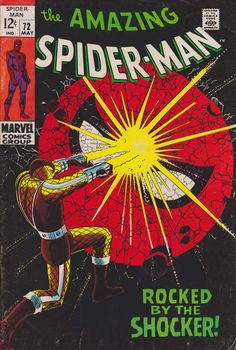 The Amazing Spider-Man #72 - May 1969 cover by John Romita Sr
