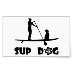 stand up paddle board with your dog