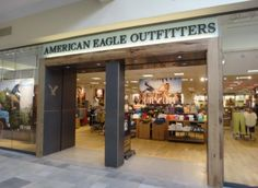 American Eagle Outfitters' fifth generation storefront (2013). This version is probably more realistic in terms of remodels for average volume locations or as the rollout standard for new builds in mid-tier malls.