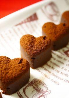 バレンタイン♥レンジで簡単♪生チョコ by ほっこり~の 【クックパッド】 簡単おいしいみんなのレシピが282万品