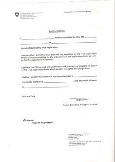 Personal Covering Letter For Schengen Visa Sample 1
