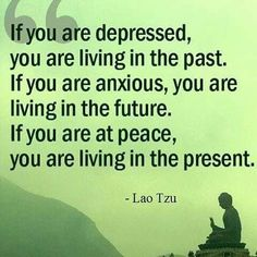 Depression, anxiety and peace