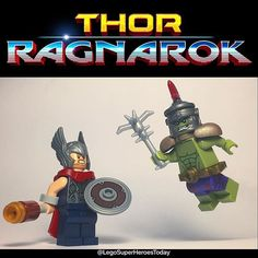 """""""He's a friend from work!"""" The new Thor:Ragnarok trailer was EPIC! I cannot believe how dark the tone felt and I am SO hyped for this..."""