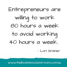How many hours are you working in your business?