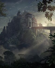 Bridge to the Castle by Mohammad Ahmadvand