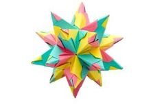 Origami stars can be simple or complex.