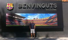 En el Camp Nou (Estadio del Barcelona) Camp Nou, Broadway Shows, Barcelona, Photos, Barcelona Spain