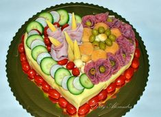Salty cakes, gallery, page 15 Tortyodmamy. Salty Cake, Evening Meals, High Tea, Watermelon, Birthday Cake, Fruit, Desserts, Midi, Food