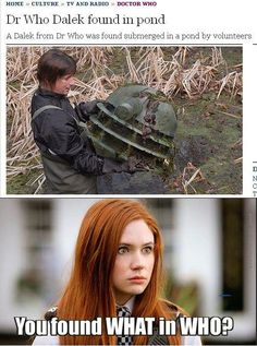 Amy almost became a Dalek once