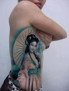 16 geisha tattoo