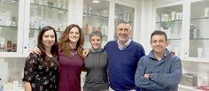 Our team of Quality, Research & Development and Regulatory // Nuestro equipo de Calidad, I+D y Regulatory: María Río, Elia Fernández, Mireia Niubó, Antonio Nieto, Josep Mª Sainz Valls.