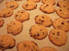 Low Carb Chocolate Chip Cookies shared on https://www.facebook.com/NoBunPlease