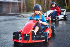 Electric Go Kart Is A Tesla For Kids