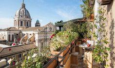 Grand Hotel Plaza in Rome, Italy #hotel #rome #cityview #citycentre