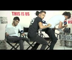 The band, One Direction, started to twerk during one of their interviews. Personally, I don't think they were doing it right. Regardless if they have the butts for it or not.