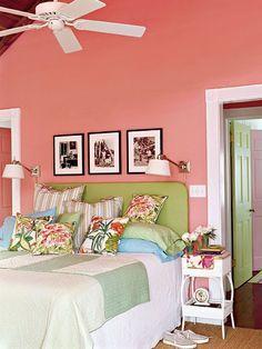 Ideas para decorar con el color coral