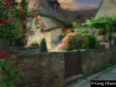Little Garden Gate - Greg Olsen