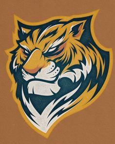ideas for cats design mascot Logo Desing, Game Logo Design, Moral Patch, Logo Circular, Tiger Illustration, Tiger Logo, Esports Logo, Tiger Art, Mascot Design