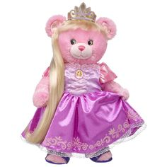 Build-A-Bear Introduces Their New Disney Princess Collection - Child Mode