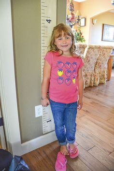 MACEY BODILY, 7, of Yacolt, shows how tall she's grown since her 2014 brain surgery to remove a large #craniopharyngioma. Macey's parents describe her as their 'sweet and easygoing' daughter. (posted September 2, 2015)
