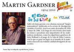 Breve semblanza de Martin Gardner, autor de ¡Ajá! Paradojas que hacen pensar.