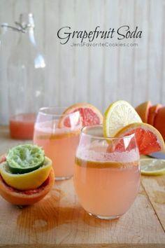 Grapefruit Soda from Jen's Favorite Cookies