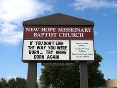 funny church signs   Funny Church Signs   Flickr - Photo Sharing!