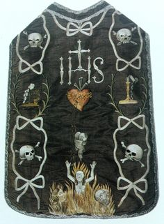 Mourning Chasuble, XVIII, Kielce Poland