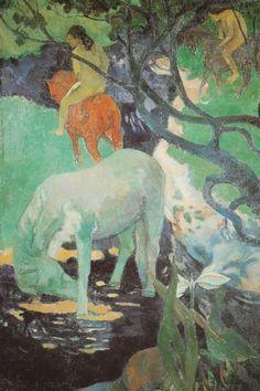 Il cavallo bianco (quadro di Gauguin)