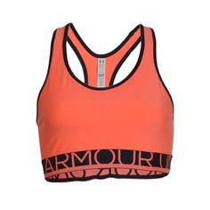 Under Armour Sport Bra-Electric Tangerine
