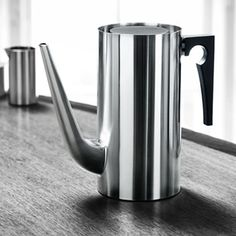 Arne Jacobsen Cylinda Coffee Pot by Stelton from Wedding List Co - The Leading Bridal Registry Specialist