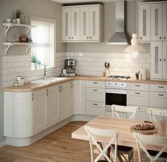 B&Q IT Stonefield Stone Classic Style #shakerkitchen. #Kitchens  Kitchen-compare.com - Home - Independent Kitchen Price Comparisons