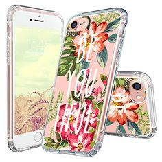 Mosnovo Floral with Quote iPhone 7 Case Collection ☞ http://amzn.to/2dZ0pkE  #Mosnovo
