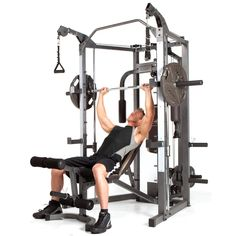 Marcy Smith Cage and Cable Crossover | Overstock.com Shopping - The Best Deals on Home Gyms