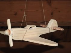 Items similar to Child's toy wooden airplane - Flying High - Flying Ace - Propeller Airplane - Fighter Plane - Aviation History - Veterans Day - Memorial Day on Etsy hashtags Wooden Airplane, Airplane Toys, Wooden Car, Airplane Flying, Airplane Mobile, Wood Projects, Woodworking Projects, Woodworking Toys, Aviation Decor
