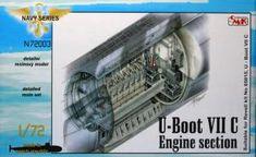 Bausatz: U-Boot VII C Engine section