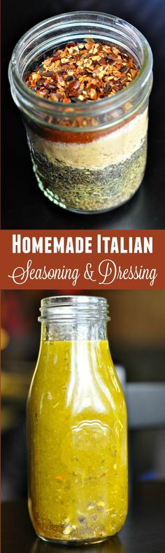 Seasoning Blend It's so easy to make your own Italian seasoning spice mix and Italian dressing! All you need is a few simple ingredients to get started with these recipes Homemade Italian Seasoning, Homemade Spices, Homemade Seasonings, Homemade Italian Dressing, Food Storage, Do It Yourself Food, Canning Recipes, Smoker Recipes, Rib Recipes