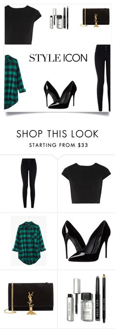 """Untitled #185"" by nihada106 ❤ liked on Polyvore featuring Alice + Olivia, Madewell, Dolce&Gabbana, Yves Saint Laurent, Bobbi Brown Cosmetics, women's clothing, women, female, woman and misses"