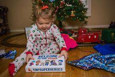 Sponsor a child today to receive their TinySuperhero cape for the holidays! #TinySuperheroes