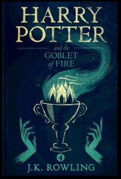 Harry Potter and the Goblet of Fire (2005) ~ Minimal Movie Poster by Olly Moss #amusementphile