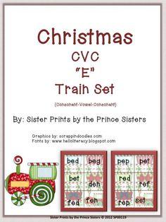 Christmas Train CVC