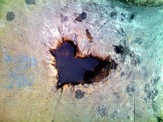 Heart-Shaped Puddle by jeff.ramone, via Flickr
