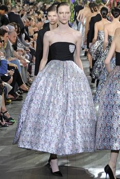Dior RTW Spring 2014 [Photo by Giovanni Giannoni]