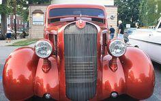Title 1936 Plymouth Two Door Sedan Front View Artist John Telfer Medium Photograph Custom Trucks, Custom Cars, Vintage Cars, Antique Cars, Fuel Truck, Full Frontal, Automotive Art, Abstract Photography, Grills