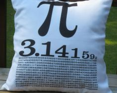 Pi 18x18 Decorative Pillow Cover